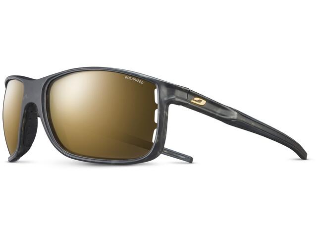 Julbo Arise Polarized 3 Okulary przeciwsłoneczne Mężczyźni, tortoiseshell grey/black/multilayer gold